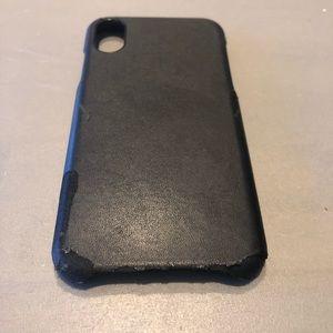Incipio Brand iPhone X black phone case